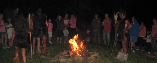 Asturias con niños: La Gran Noche Prehistórica en Teverga!