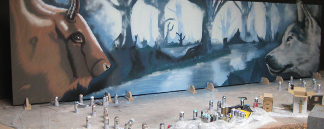 Asturias con niños: Grafitis prehistóricos en Teverga
